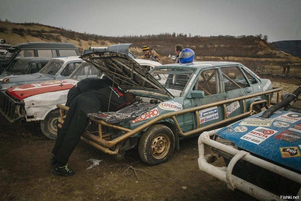 Подготовка автомобиля к дерби